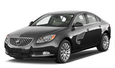 Buick Regal 2.0---A roomy and comfortable business class car ideally suited for the usual 2 or 3 hour drives to supplier factories.