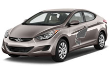 "Hyundai Elantra---The Elantra delivers strong safety and ""class above"" roominess in a intermediate classed vehicle."